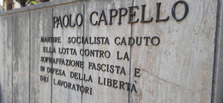 Verso il 25 aprile - A Cosenza il ricordo di Paolo Cappello, simbolo antifascista
