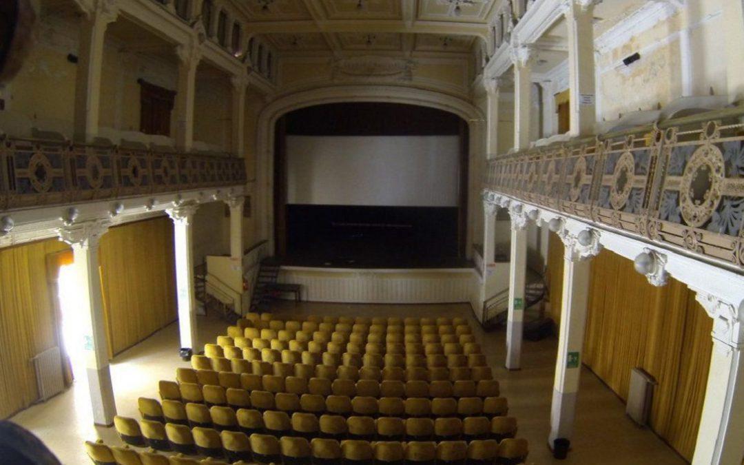 La sala del Teatro Masciari