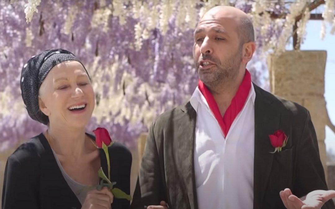 Helen Mirren e Checco Zalone