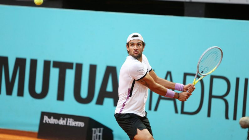 Berrettini in semifinale a Madrid, Garin ko in 3 set