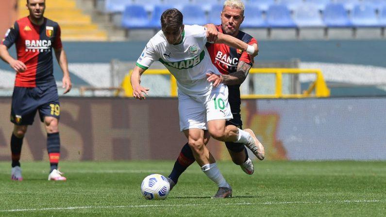 Il Sassuolo prosegue il sogno Europa, 2-1 in casa Genoa