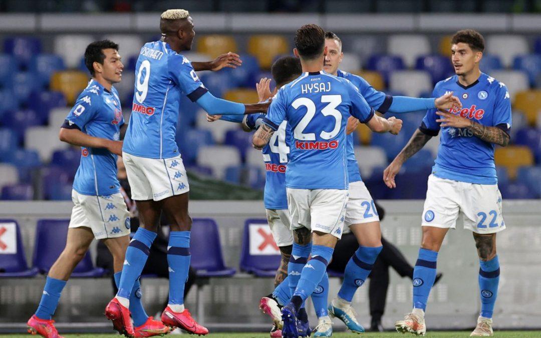 Goleada del Napoli al Maradona, 5-1 all'Udinese