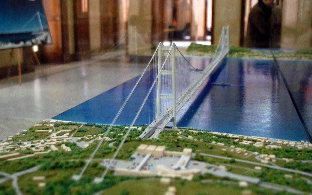 Il vecchio progetto del Ponte sullo Stretto