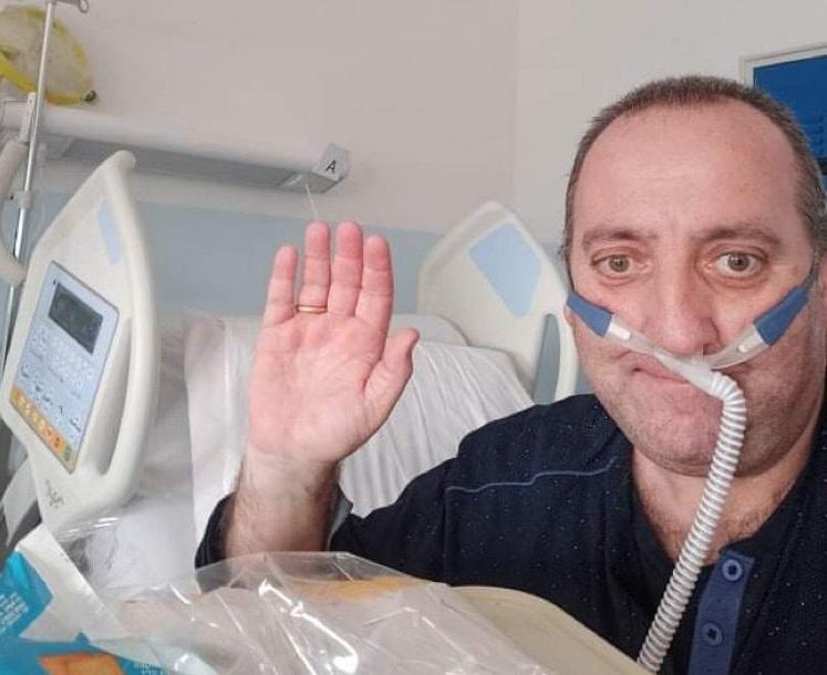 «Mi hanno salvato la vita...»: la storia di un cosentino che ha vissuto in ospedale l'incubo del Covid