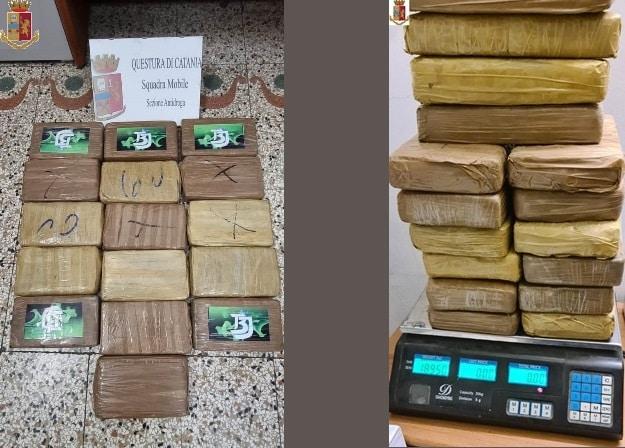 Calabrese sorpreso a Catania con 360mila euro di cocaina: arrestato dalla polizia