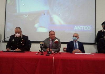 Conferenza Stampa Operazione Anteo Gratteri
