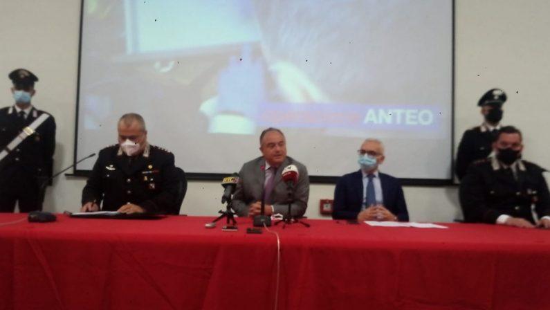 Operazione Anteo, i nomi delle persone coinvolte