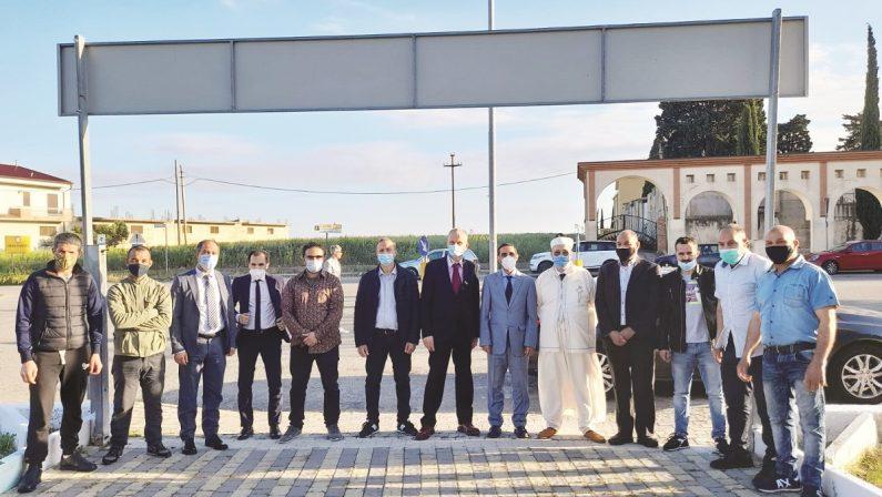 La comunità marocchina di Cutro in festa per l'erede al trono