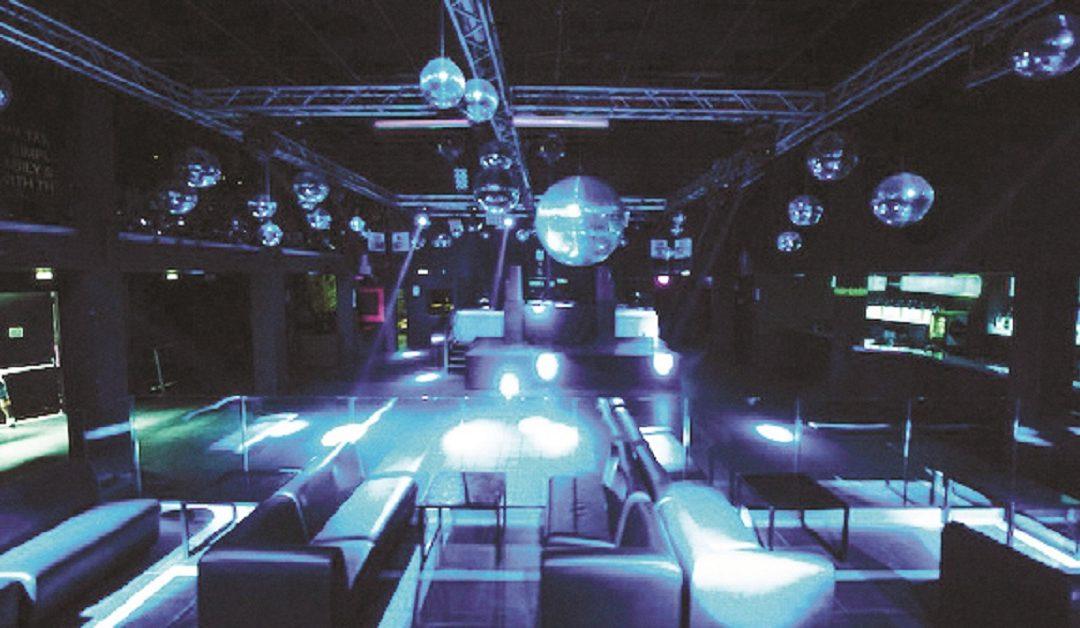 Una discoteca chiusa