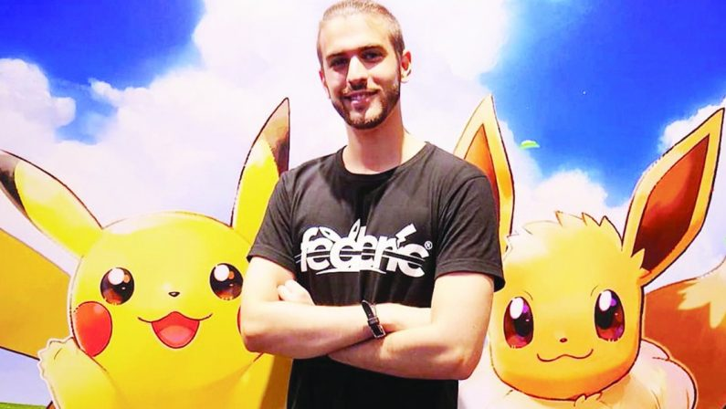 Federico Profaizer in arte Federic Ricco con i Pokémon