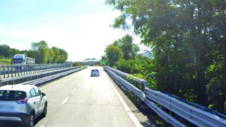 Viadotto Cerro, nel territorio comunale di Picerno (in direzione Potenza)