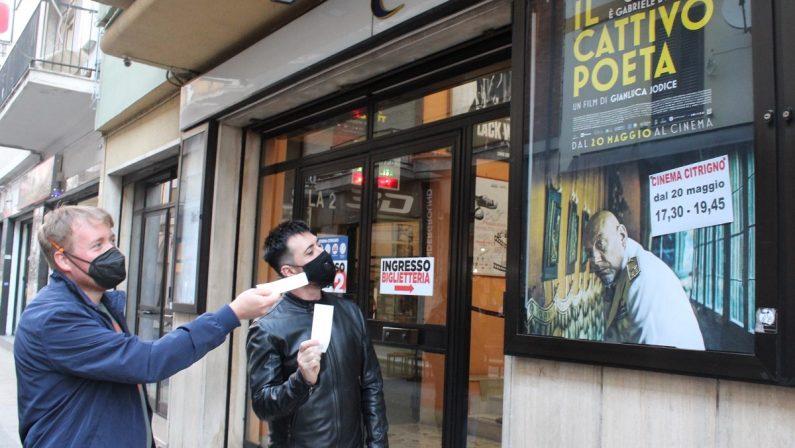 Cosenza, riapre il cinema Citrigno: l'affluenza è già discreta