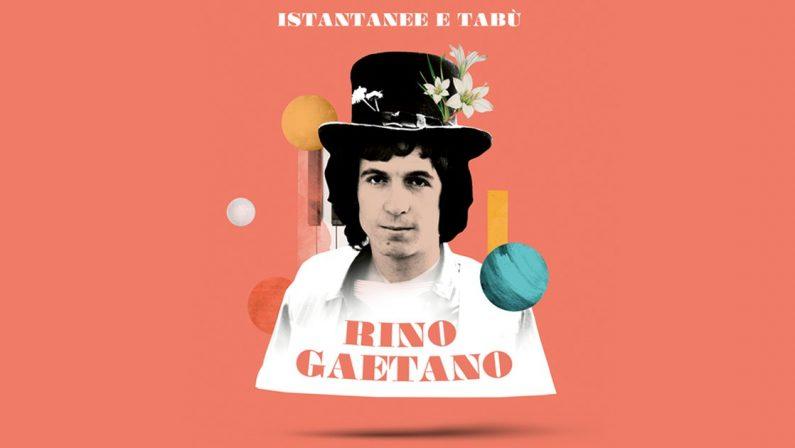 40 anni senza Rino Gaetano, arriva la nuova raccolta in Lp e Cd: Istantanee e Tabù