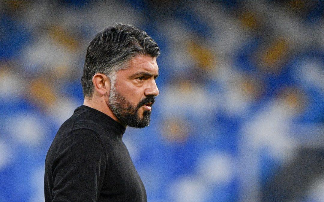 Rino Gattuso, allenatore del Napoli