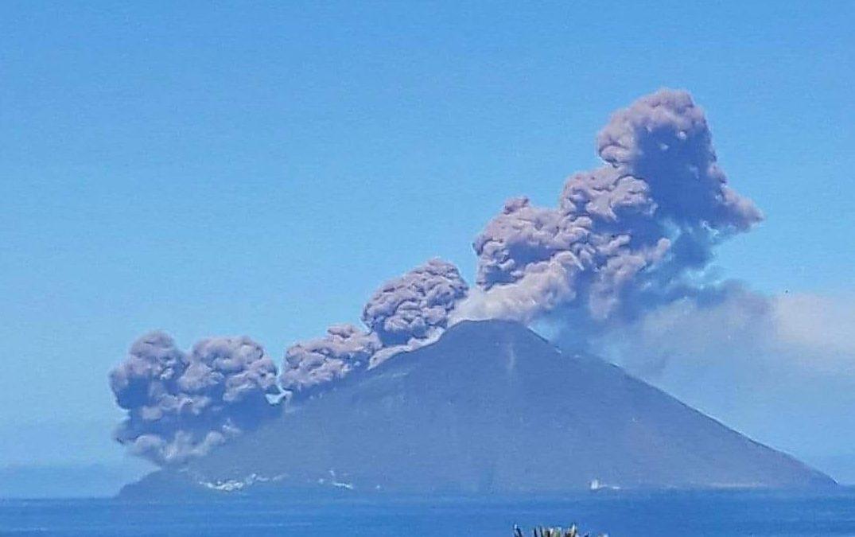 L'eruzione dello Stromboli