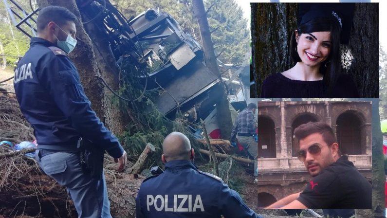Coppia residente a Diamante tra le vittime della tragedia della funivia sul Mottarone