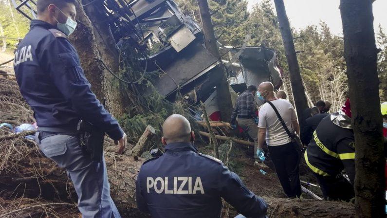Tragedia del Mottarone, arrestate tre persone per la caduta della funivia