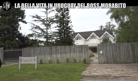 La villa di Morabito durante la permanenza in Uruguay