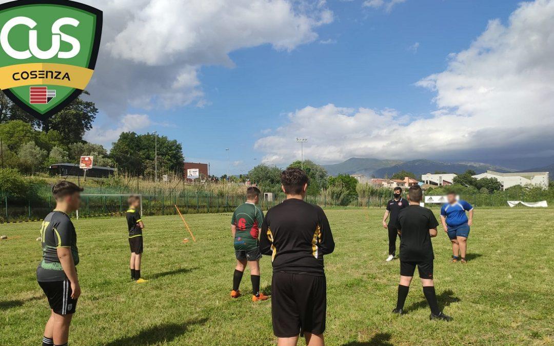 L'attività sportiva di alcuni ragazzi nel Cus Cosenza