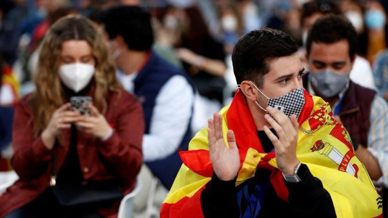"""Madrid, la vittoria in controtendenza delle forze contrarie al """"tutto chiuso"""""""