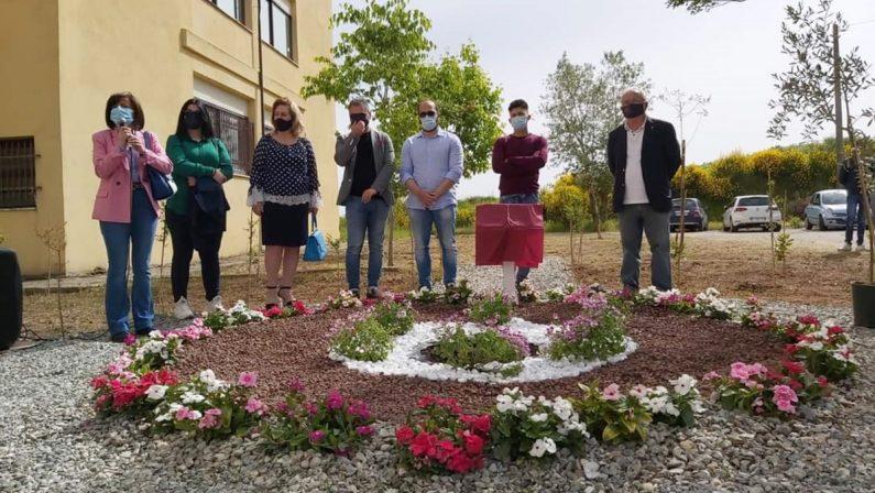 A Vibo Valentia un'area verde in memoria della prima vittima del Covid in città