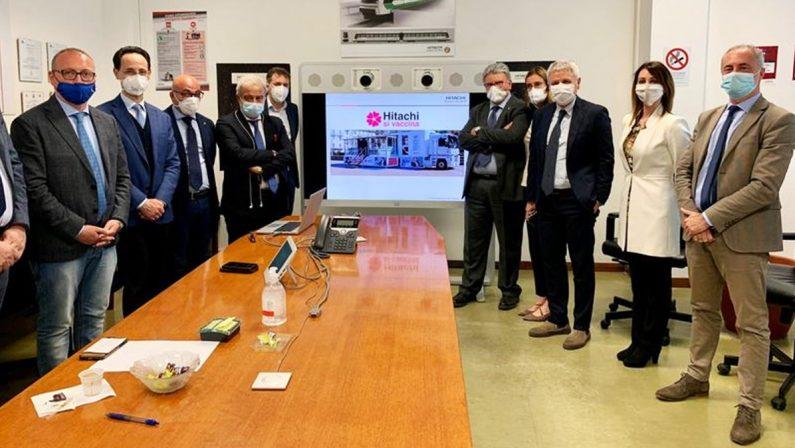 Vaccini anti-Covid, Hitachi presenta alla Regione Calabria il piano dedicato ai dipendenti