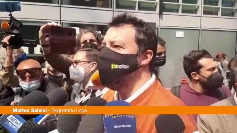 """Gregoretti, Salvini: """"Non temo le ingiustizie ma le combatto"""""""