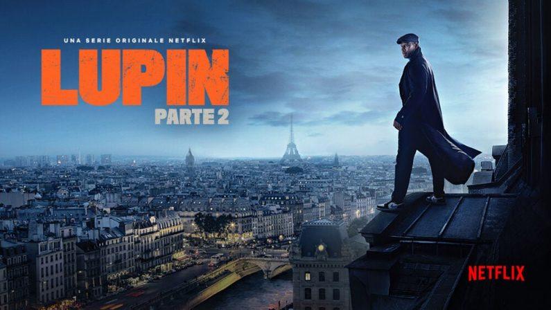 Televisione, Netflix svela la data di uscita dei nuovi episodi di Lupin 2