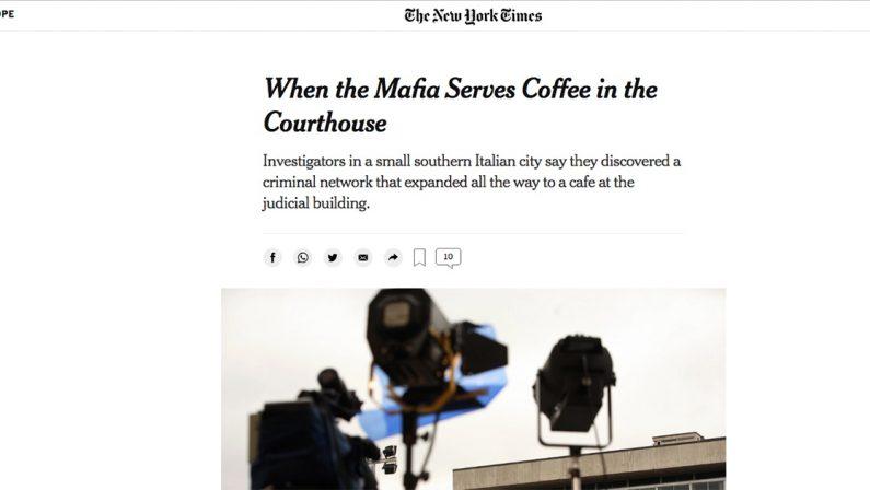 Quando la mafia serve il caffè in tribunale