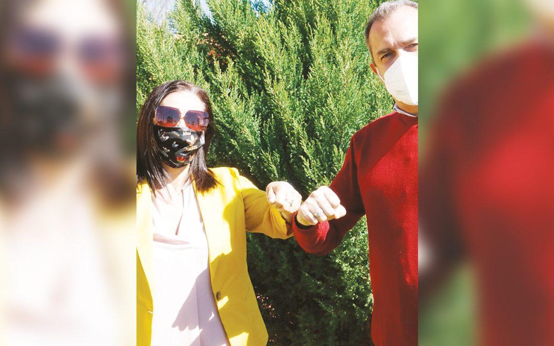 Marisa Garofalo e Luigi de Magistris