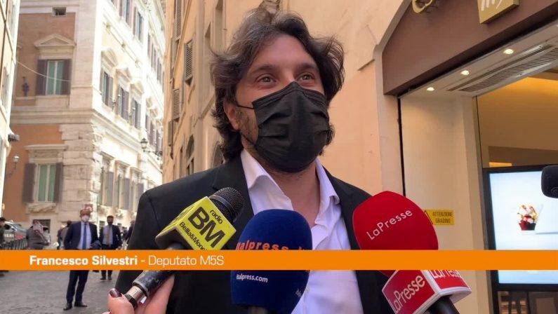 """Silvestri: """"A Roma avanti con Virginia Raggi"""""""