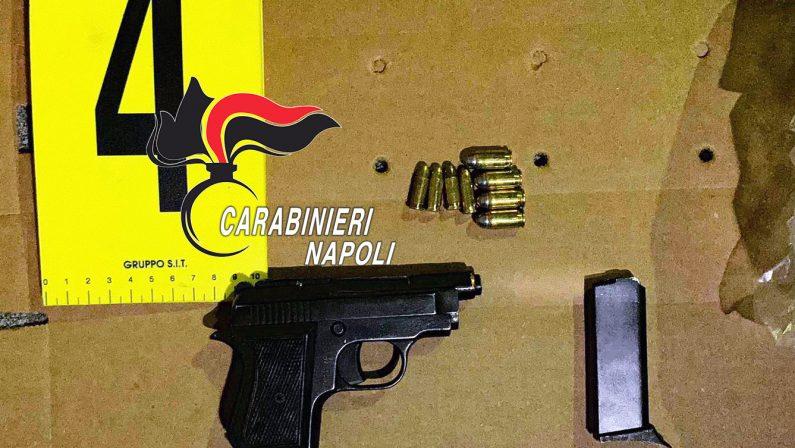 Dopo una discussione con i vicini spara con pistola clandestina, 57enne arrestato dai Carabinieri
