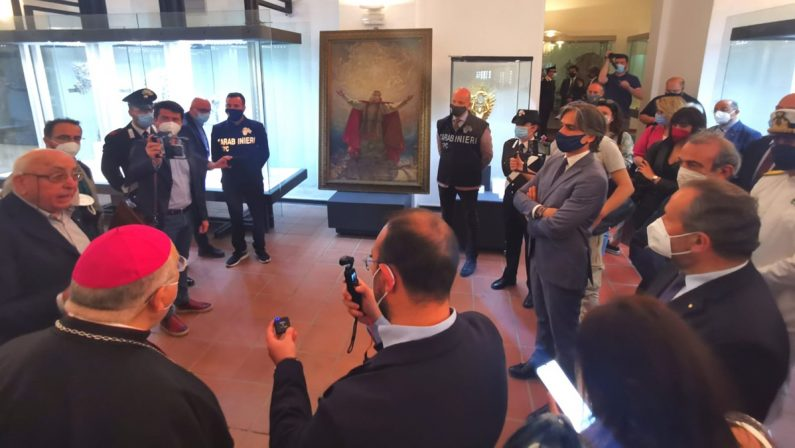 Il quadro di San Prospero torna a Reggio Calabria dopo il ritrovamento