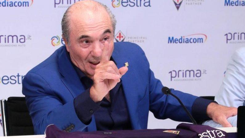 Lo sfogo di Rocco Commisso: «La Fiorentina è andata male anche per colpa dei giornalisti»