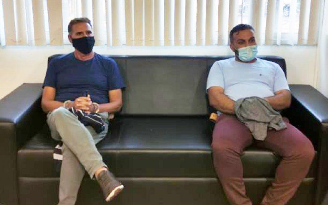 I due latitanti, Rocco Morabito e Vincenzo Pasquino, arrestati in Brasile