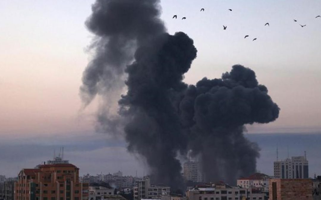 Bombe sulla Striscia di Gaza