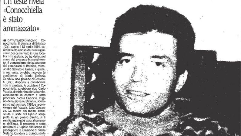 Rinascita-Scott, Mantella: «Conocchiella ucciso per il protrarsi del sequestro»