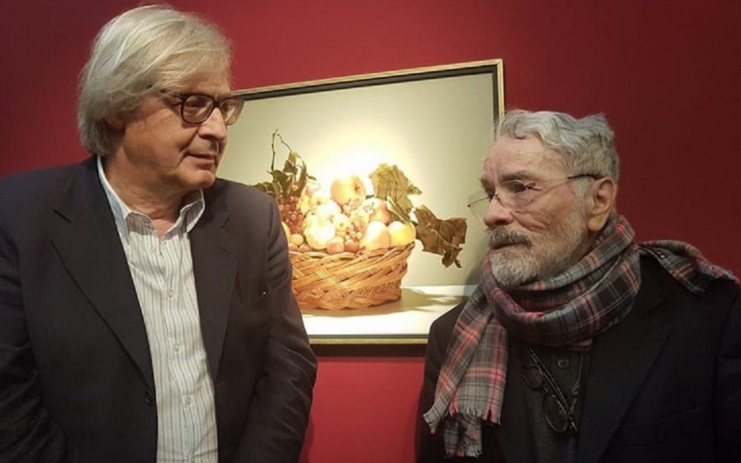 Vittorio Sgarbi e Luciano Ventrone