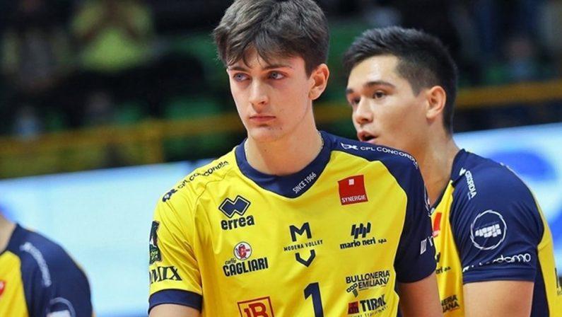 Volley, la Tonno Callipo Vibo sulle tracce di Rinaldi per rinforzare il reparto schiacciatori