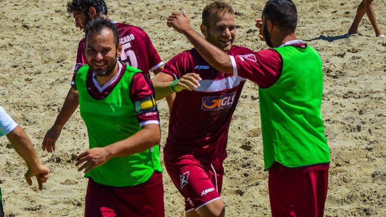 Beach Soccer, si completa l'organico dell'Asd Lamezia in vista del campionato