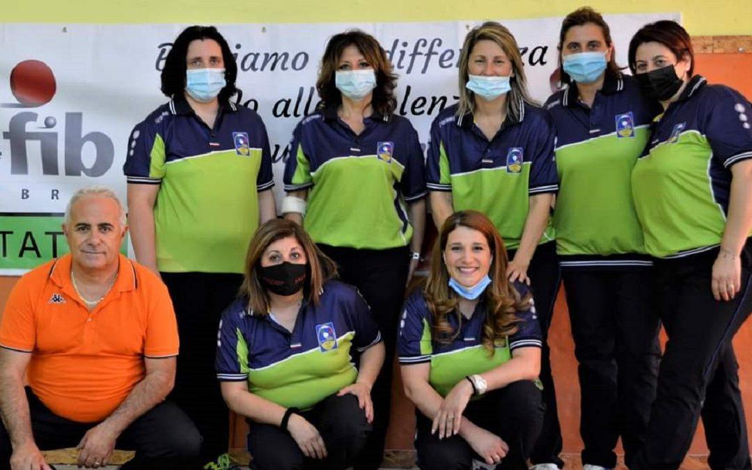 La squadra della Bocciofila Sala Catanzaro