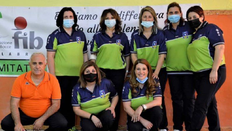 Bocce: Catanzaro prima squadra femminile calabrese alla final four Scudetto