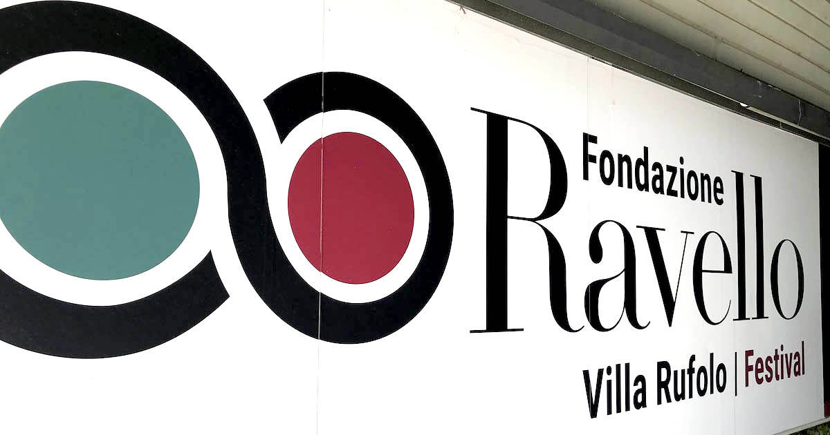 Cartello Fondazione Ravello