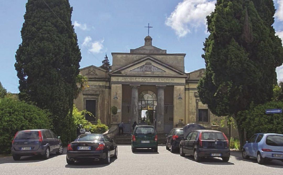Il cimitero di Vibo Valentia