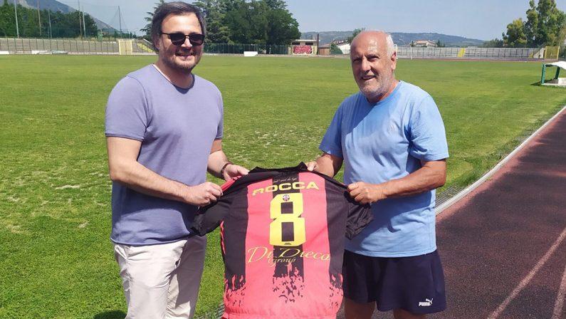 Il Castrovillari omaggia Tonino Rocca, il calciatore rossonero più celebre
