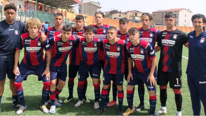 Nulla da fare per il Crotone Under 17 nei quarti di finale contro la Roma