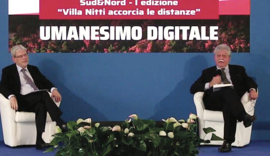 Il presidente onorario di Merita, De Vincenti, e il presidente di Fondazione Nitti, Rolando