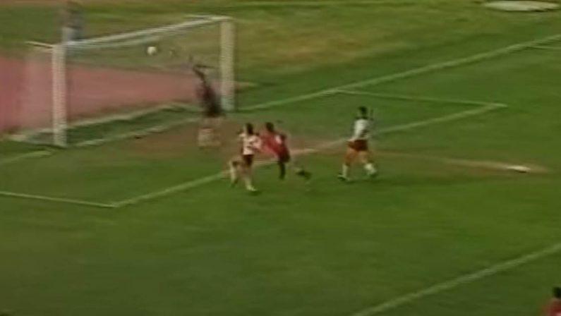 Marulla e il Cosenza: 30 anni fa quel gol alla Salernitana che fece la storia…