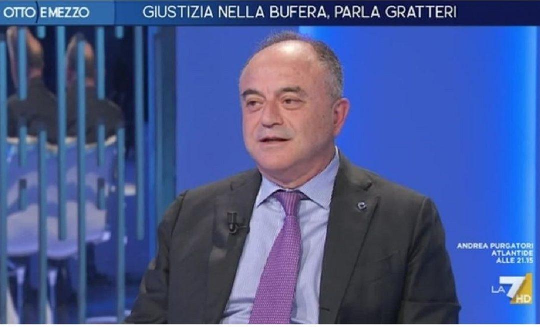 """Nicola Gratteri ospite a """"Otto e mezzo"""""""