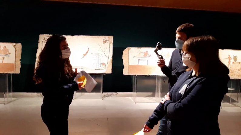 Paestum, progetto di inclusione museale per autistici